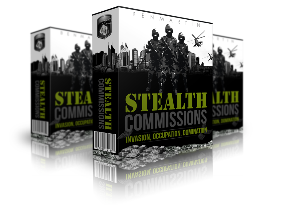 Stealth Commissions Front End