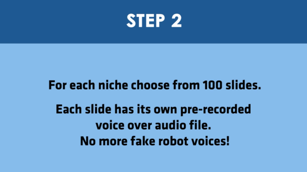 Step 2 - AI Video Ceator