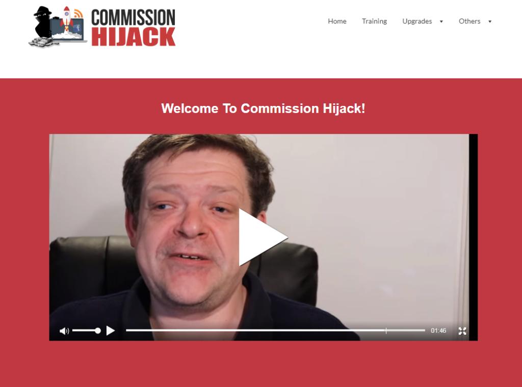 commission hijack Members Area